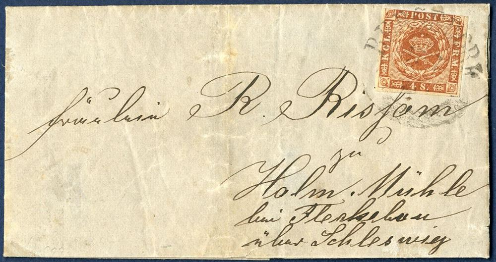 writing cover letters letter sent from bergedorf 1860 the duchy of schleswig 1860