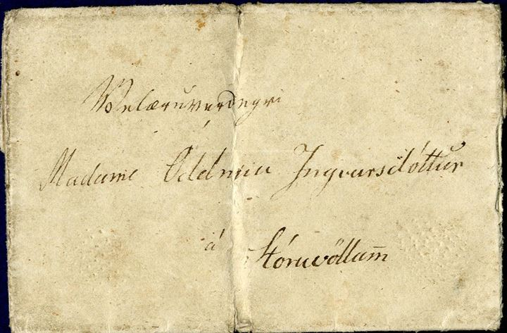 Pre-philatelic letter from Barkarstadir to Storuvellir dated May 22, 1840. Full contents and translation. Vertical fold.