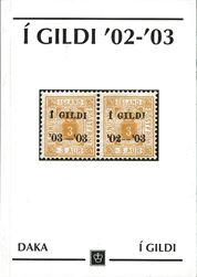 Iceland I GILDI 02-03In 1941, Erik Lundgård wrote a treatise based on primary sources and interviews. This work, now published, throws new light on the stamps, covers philatelic side in detail, with information on the overprints and varieties. In Danish, but with many illustrations and tables. 80 pages.Postage to be added, request price.