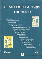 GF7 Greenland Cincerella 1999. Spans the range of Cinderella material. There is a detailed chapter on meter marks and specialized treatment of Christmas and charity seals, Greenland Childrens Society labels and sheets, Gentofte Greenland Committee, promotion labels, commemorative sheets, locals, savings stamps, private stamp booklets, essays. Profusely illustrated; in Danish and English. Postage to be added, request price.