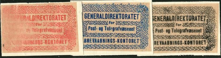 "Set of unique essays of ""The Returned Letter Stamps of 1935"", likely produced in 1934 or 1935 as replacements for the 1930 Issue, which was thought to be too small and difficuelt to read. Printed on Pelure glassine paper."